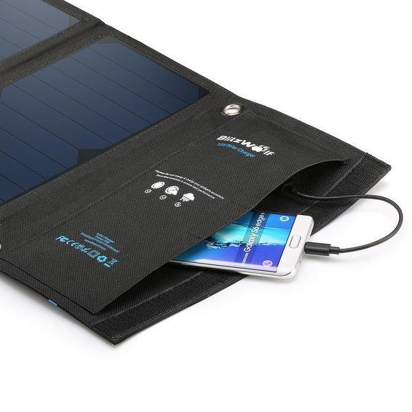 Solární nabíječka Blitzwolf 15W